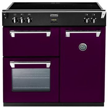 Stoves Richmond 900 Ei - Aubergine